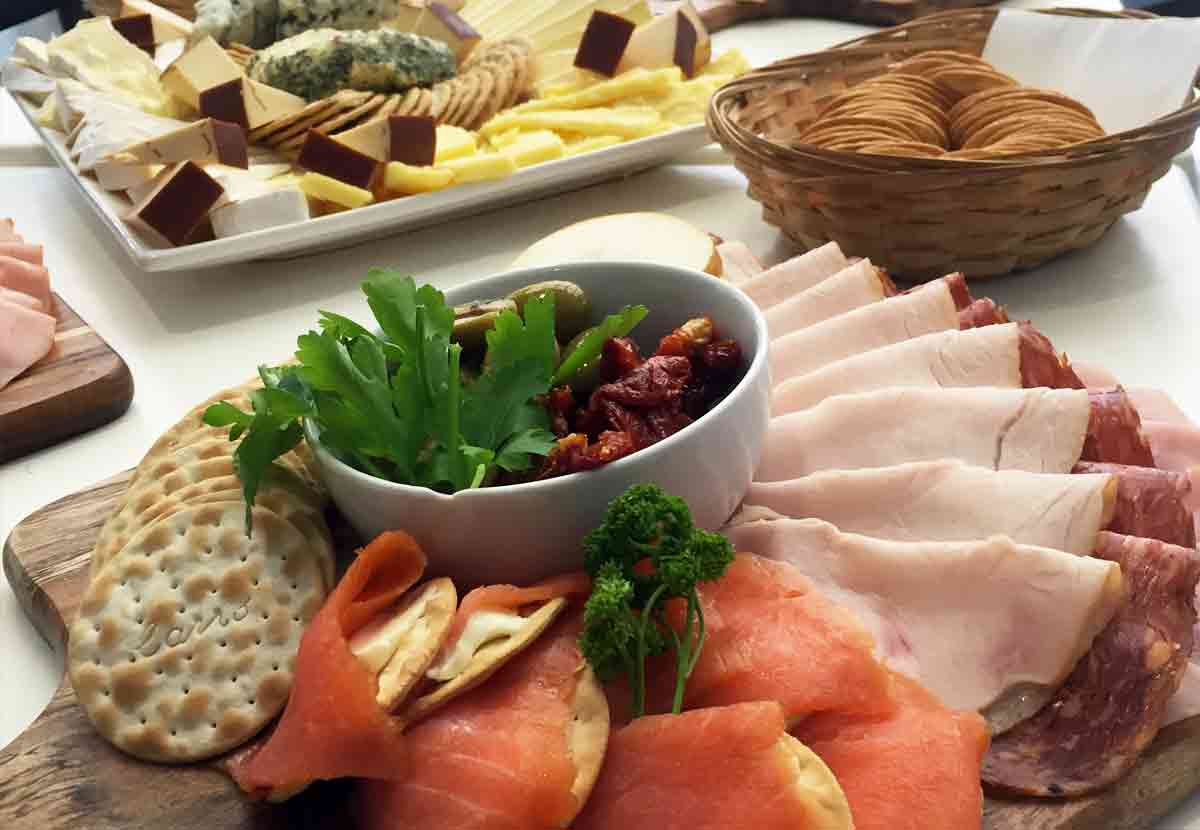 Catering platters